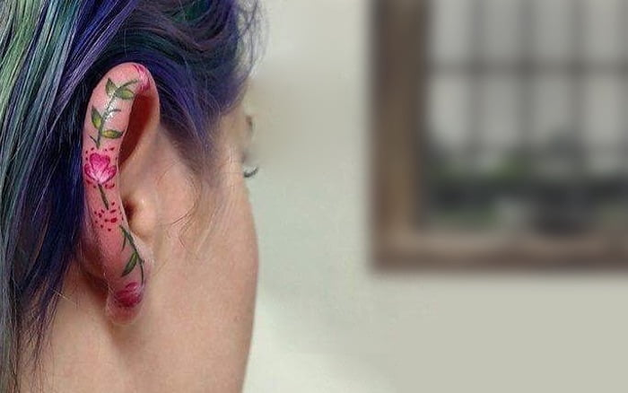 17 Heavenly Ear Helix Tattoos to Get Behind in 2018